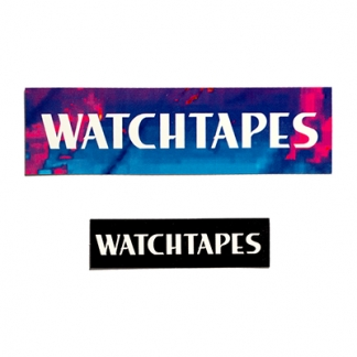 WATCHTAPES STICKERS
